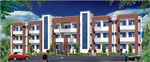 Jr. Doctor's Hostel of Manyawar Kanshiram Ji Allopathic Medical College,Saharanpur,U.P.